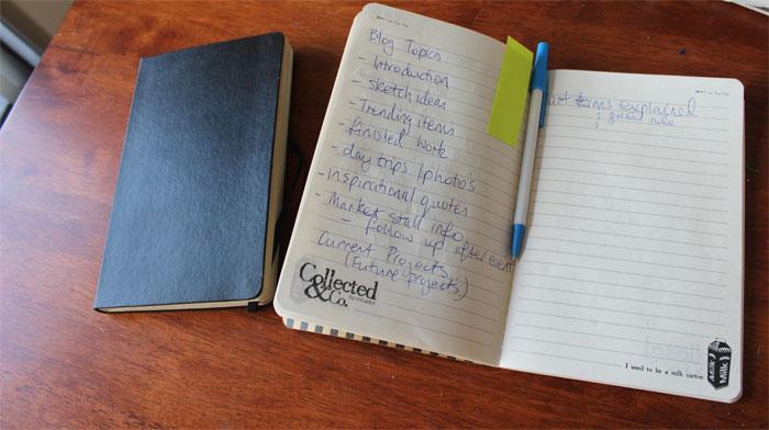 Pending Ideas for Blog Topics