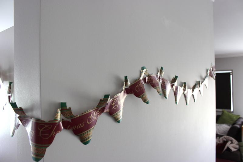 garland hanging