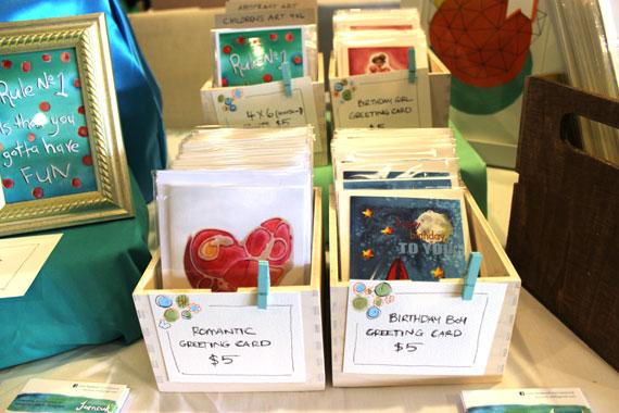 Joanouk Le Boulevard Market 2014 4x6 cards and 4x6 digital prints