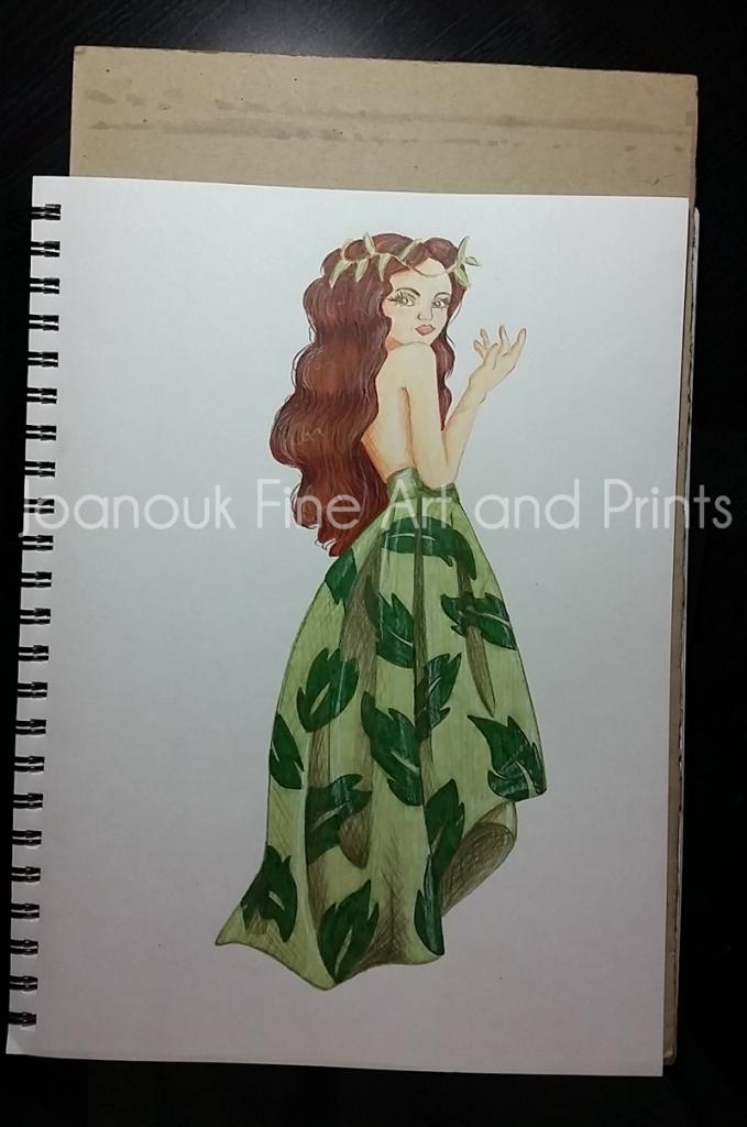 Joanouk Leaf Lady - Woodland Showcase