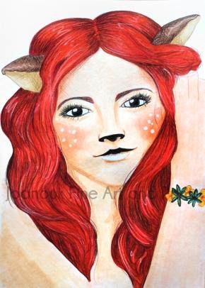 Fawn Lady Woodland Showcase