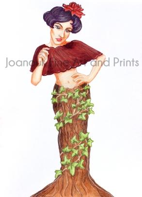 Lady Ivy Woodland Showcase
