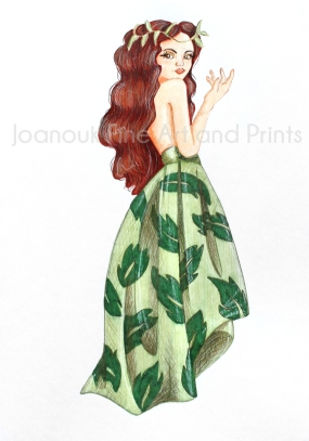 Leaf Lady woodland showcase