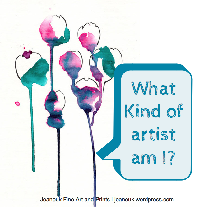 Joanouk What Kind of Artist am I?