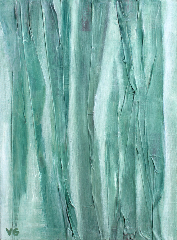 demulcent-abstract-art-print-green-painting
