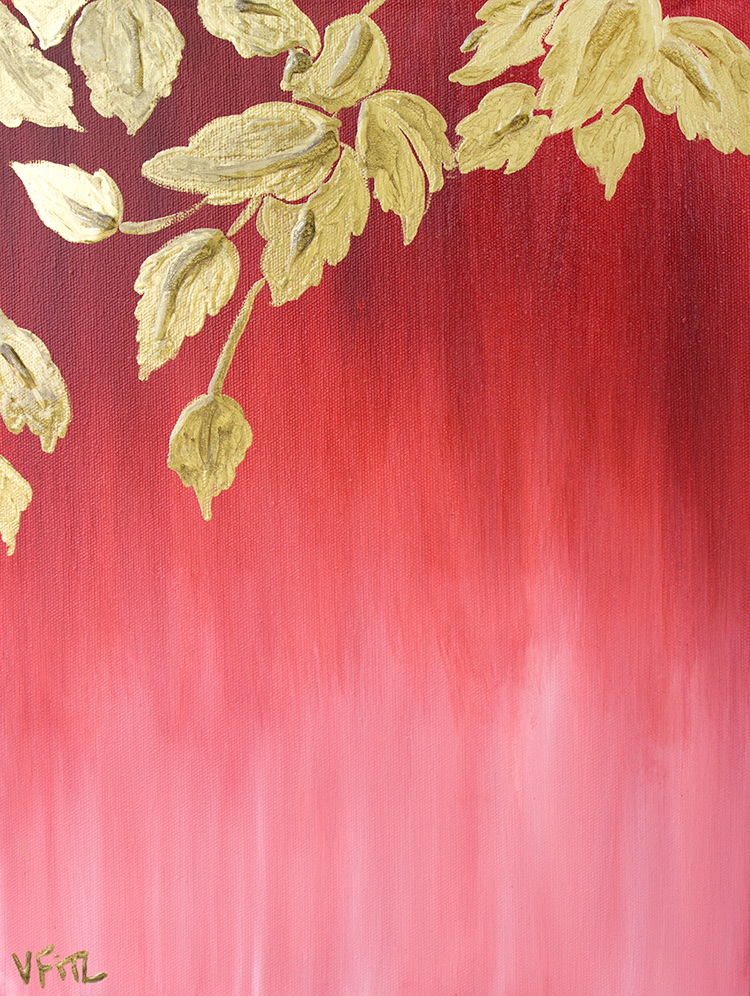 haecceity-red-ombre-gold-leaves-art-print