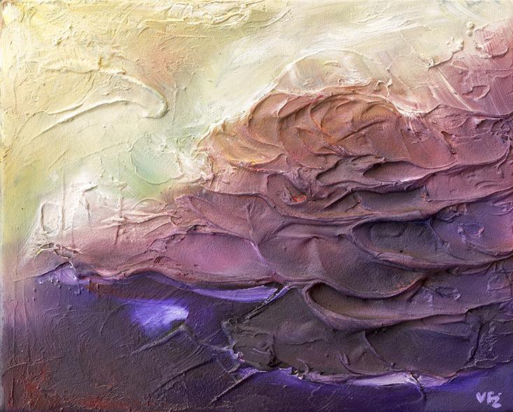 Near Light, Abstract Landscape, Skyscape, Melbourne Abstract Art, vfitzartist